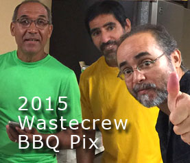 2015 Wastecrew BBQ Photos